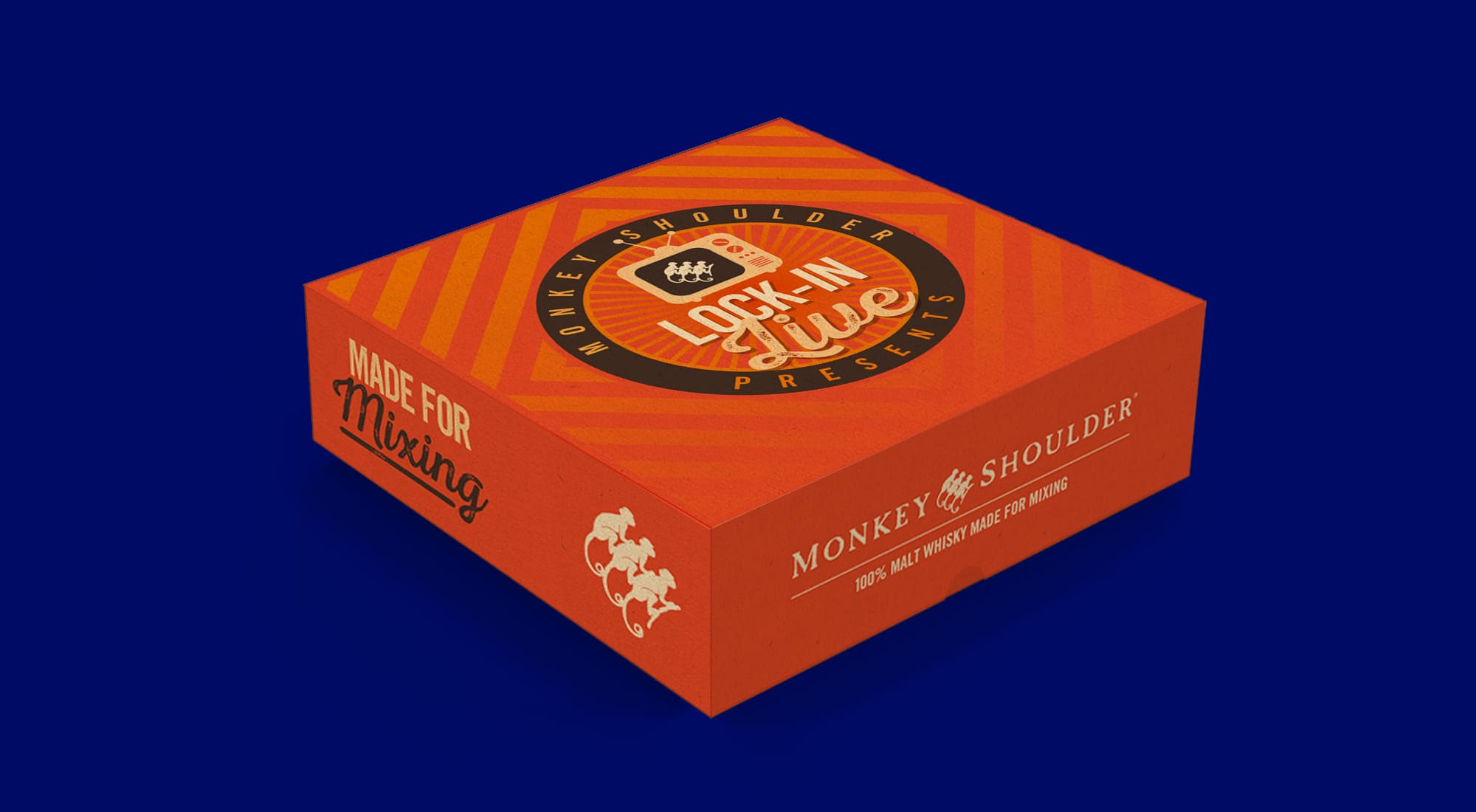 Monkey Shoulder live gift box